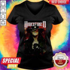 Undertaker Professional Wrestler Horror V-neck