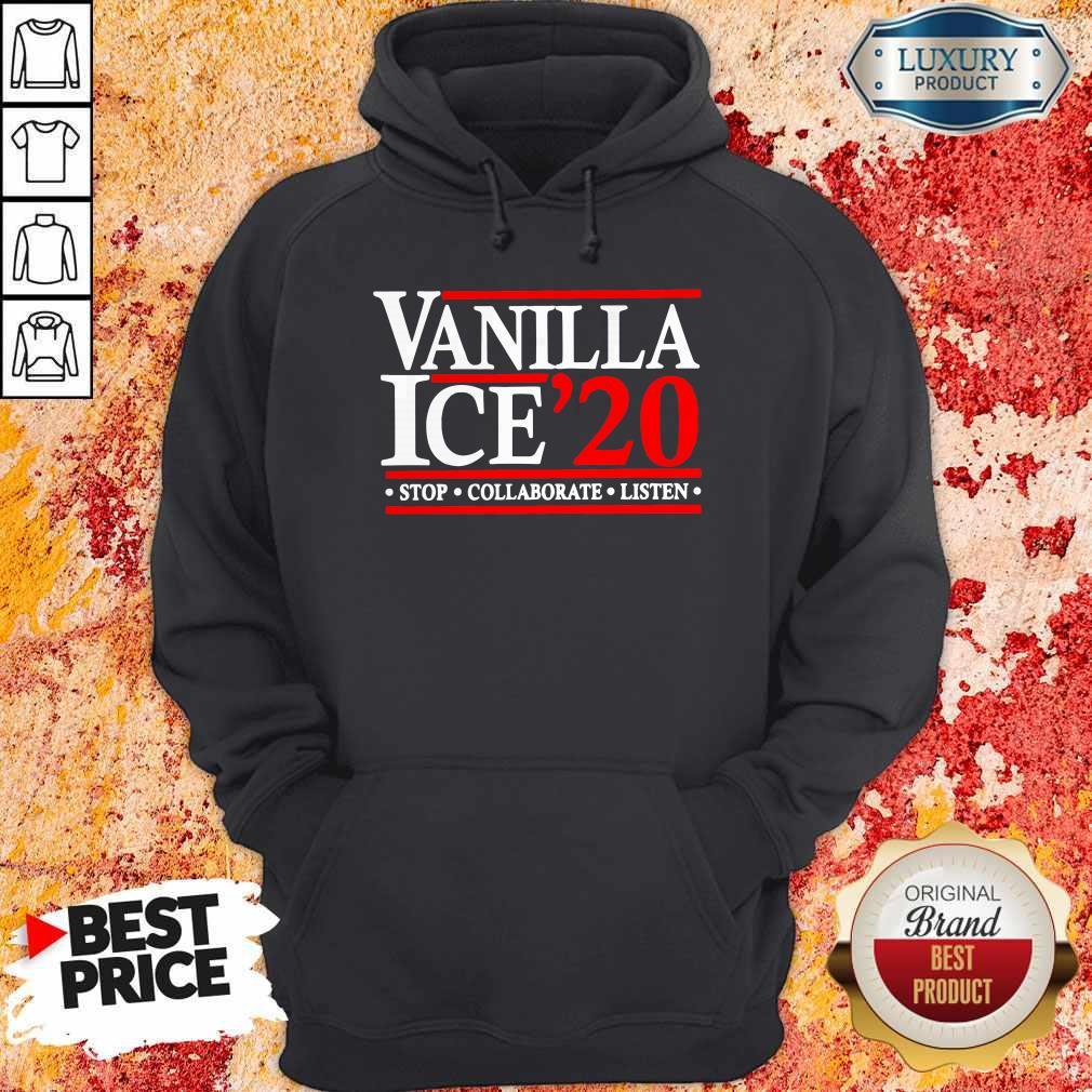 Vanilla Ice' 20 Stop Collaborate Listen Hoodie