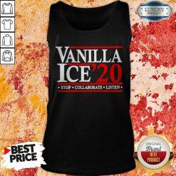 Vanilla Ice' 20 Stop Collaborate Listen Tank Top