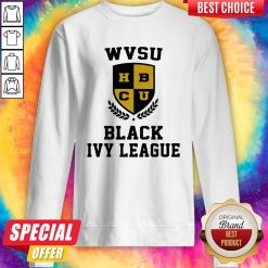 Wvsu University Black Ivy League Sweatshirt