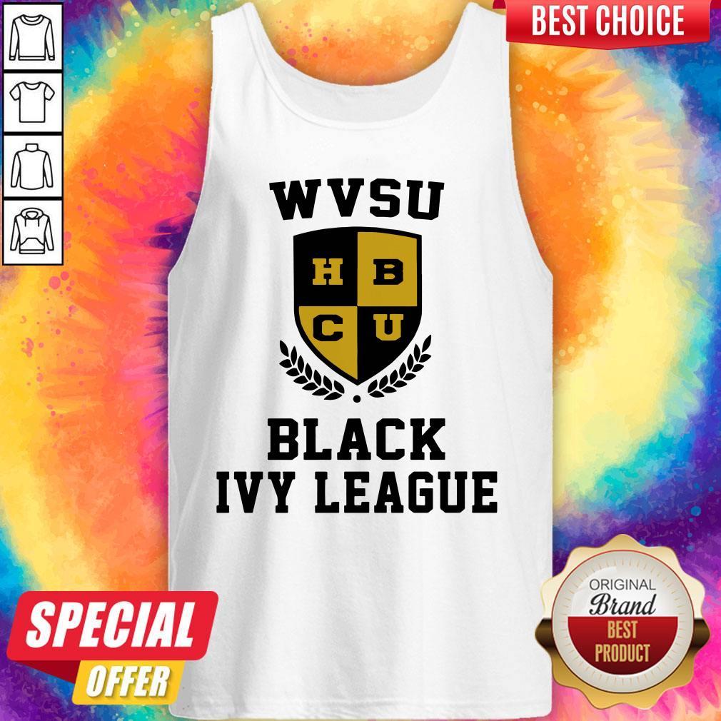 Wvsu University Black Ivy League Tank Top