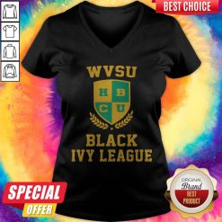 Xavier University Black Ivy League V-neck