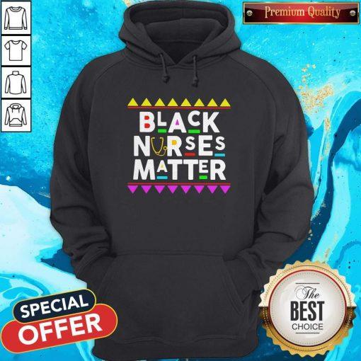 Black Nurses Matter Styles 90s Hoodie
