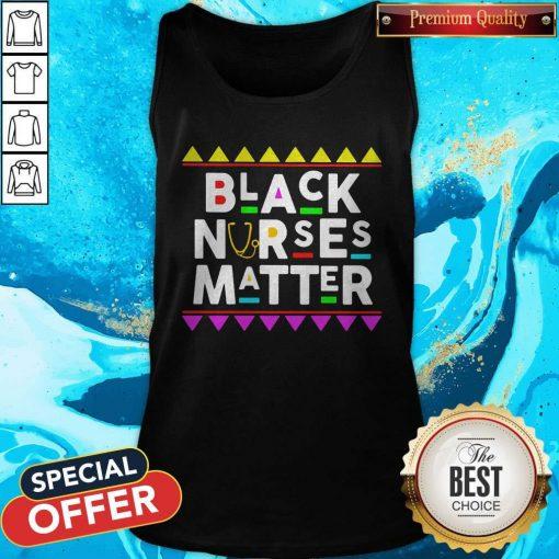 Black Nurses Matter Styles 90s Tank Top