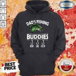 Dad's Fishing Buddies Benny Lane Evelyn Hoodie