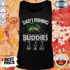 Dad's Fishing Buddies Benny Lane Evelyn Tank Top
