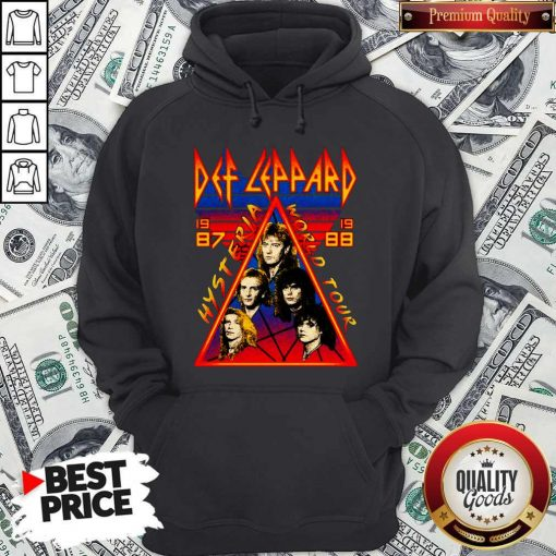 Def Leppard Hysteria World Tour 1987 Hoodie