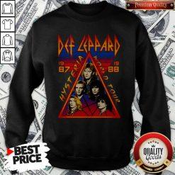 Def Leppard Hysteria World Tour 1987 Sweatshirt