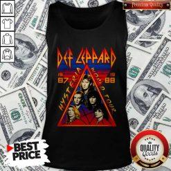 Def Leppard Hysteria World Tour 1987 Tank Top