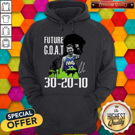Future Goat Dallas Mavericks Basketball Signature Hoodie