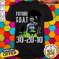Future Goat Dallas Mavericks Basketball Signature Shirt