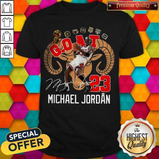 GOAT 23 Michael Jordan Signature Shirt
