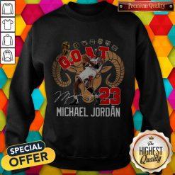 GOAT 23 Michael Jordan Signature Sweatshirt