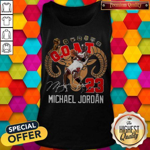 GOAT 23 Michael Jordan Signature Tank Top