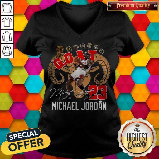 GOAT 23 Michael Jordan Signature V-neck