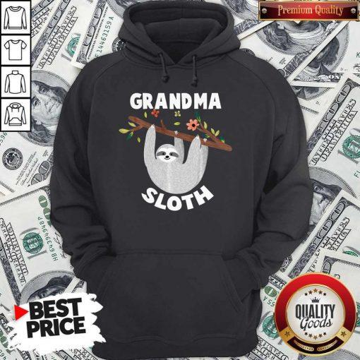 Grandma Sloth Matching Family For Men Women Hoodie