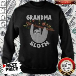 Grandma Sloth Matching Family For Men Women Sweatshirt