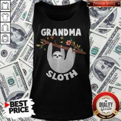Grandma Sloth Matching Family For Men Women Tank Top