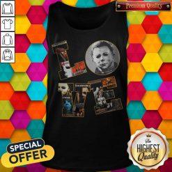 Horror Michael Myers Love Halloween Tank Top