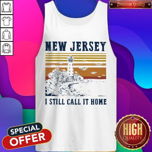 New Jersey I Still Call It Home Vintage Tank Top