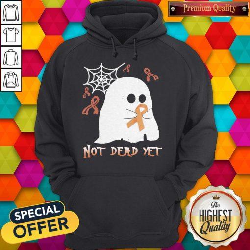 Not Dead Yet Ghost Halloween Hoodie