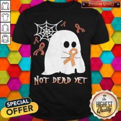 Not Dead Yet Ghost Halloween Shirt