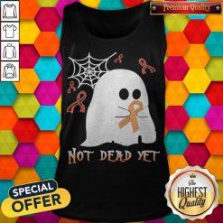 Not Dead Yet Ghost Halloween Tank Top