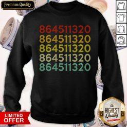 Official 864511320 Anti Trump Retro Sweatshirt