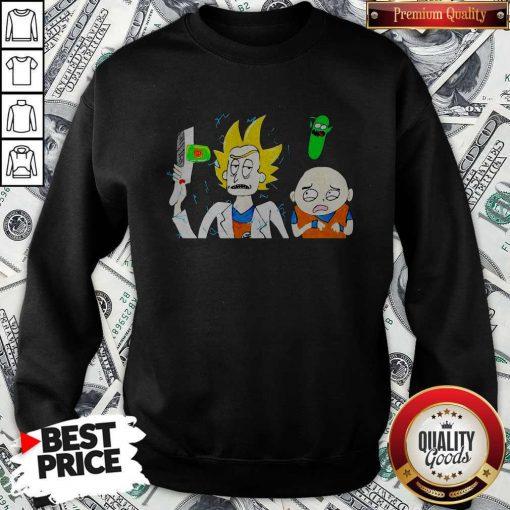 Official Dragon Ball 7 Rick And Morty Sweatshirt