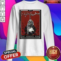 Official Hangman Opossum Tarot Card Sweatshirt