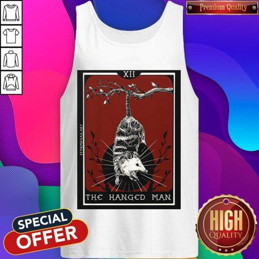 Official Hangman Opossum Tarot Card Tank Top