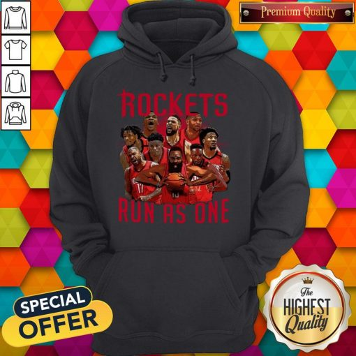 Official Rockets Run As One Hoodie