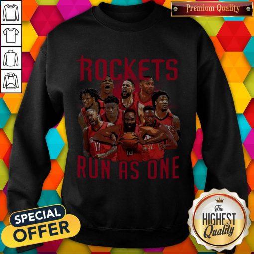 Official Rockets Run As One Sweatshirt