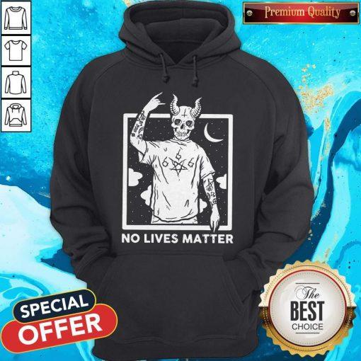Official Satan No Lives Matter Hoodie