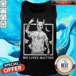 Official Satan No Lives Matter Tank Top