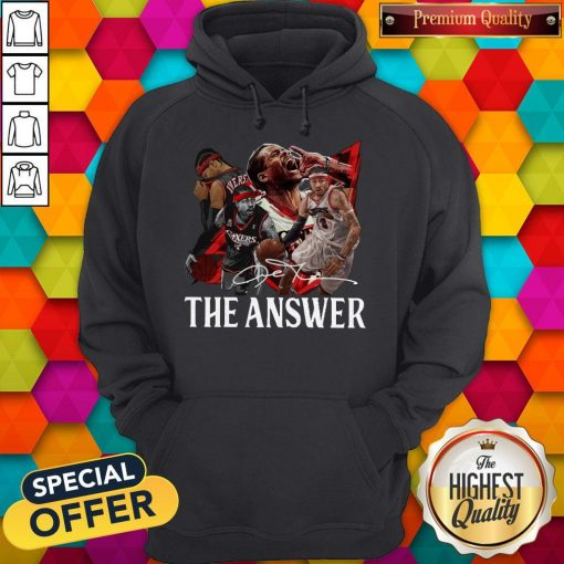 Official The Answer Legend Signature Hoodie