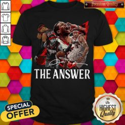 Official The Answer Legend Signature T-Shirt