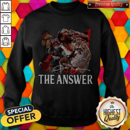 Official The Answer Legend Signature Sweatshirt