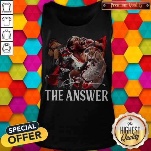 Official The Answer Legend Signature Tank Top