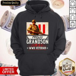 Proud Grandson Of A WWII Veteran Hoodie