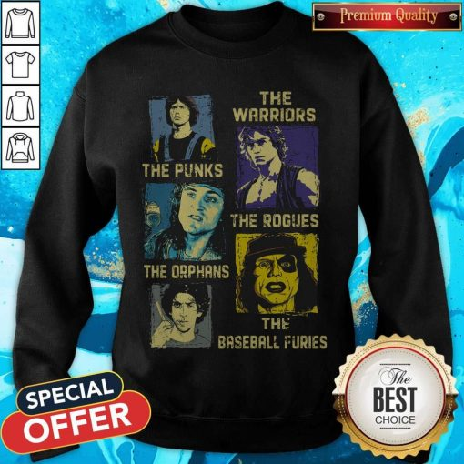 The Warriors The Punks The Rogues The Orphans The Baseball Furies Sweatshirt