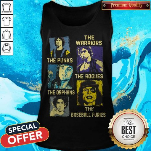 The Warriors The Punks The Rogues The Orphans The Baseball Furies Tank Top