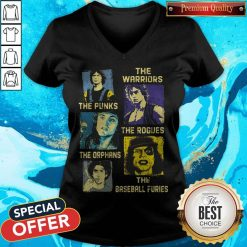 The Warriors The Punks The Rogues The Orphans The Baseball Furies V-neck