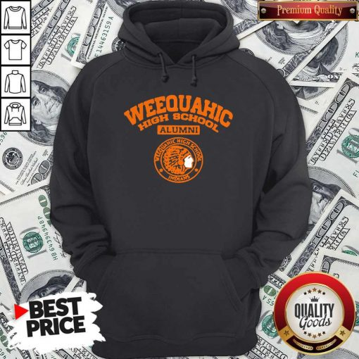 Weequahic High School Alumni Indians Native Hoodie