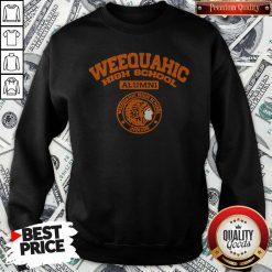 Weequahic High School Alumni Indians Native Sweatshirt