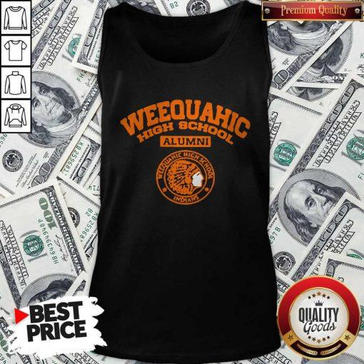 Weequahic High School Alumni Indians Native Tank Top