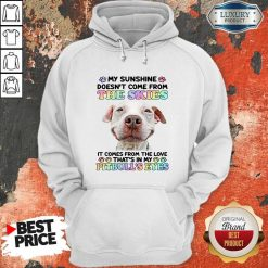 Doesn't Come From The Skies It Comes From The Love That's Eyes Hoodie