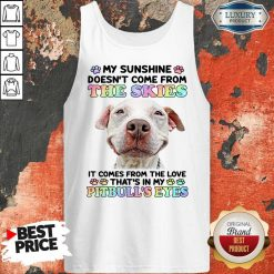 Doesn't Come From The Skies It Comes From The Love That's Eyes Tank top