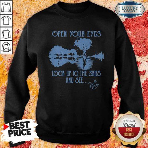 Freddie Mercury Open Your Eyes Look Up To The Skies Sweatshirt