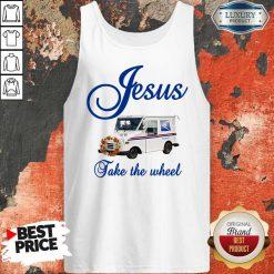 Good Jesus Take The Wheel Tank Top